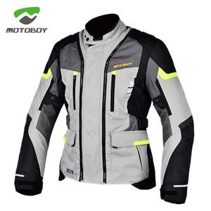2020 Motoboy Moto Vélo Sports Equitation Windcoat chaud imperméable Liner Ce Protecteurs Spring Racing Veste moto