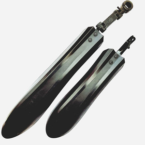 Bike Fender Front Rear Fenders Bicycle Mudguard for Mountain Bicycle Fits 22'' 24'' 26'' Fender Set Mud Guards