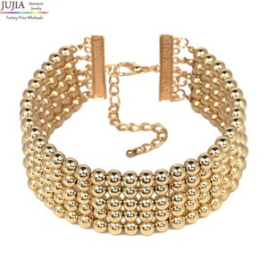 3 couleurs 2019 mode Kim Kardashian collier collier collier pendentif déclaration de tour de cou maxi bijoux tour de cou en gros