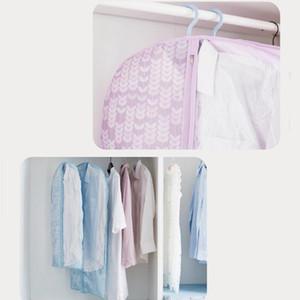 Maison Garde-robe Oxford Costume D'impression De Tissu Anti-Poussière Sac De Chambre Accrocher Des Vêtements Sac De Rangement Hommes Femmes Chemise Sac De Rangement 60 * 100 cm DH0975