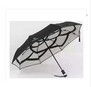 NEW 악어 패턴 완전 자동 파라솔 태양 우산 세 접는 우산 남성과 여성의 비즈니스 우산