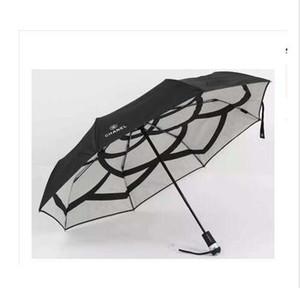 NEW Alligatormuster Vollautomatische Sonnenschirm Sonnenschirm Drei Folding Umbrella Herren und Damen Business Regenschirme