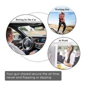 Tactical Pistol Holster Portable Hidden Holster Wide Belt Mobile Phone Outdoor Defense