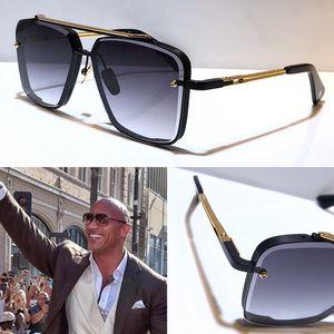 الرجال التيتانيوم مصمم النظارات الشمسية خمر الأزياء النمط الشعبي إطار مربع UV 400 مع عدسة الأصلي حالة مربع حقيبة أعلى جودة النظارات الشمسية