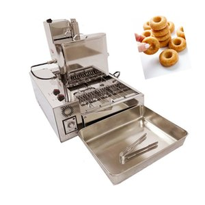 Free shipping commercial use 110v or 220v electric heating automatic mini donuts frying maker doughnuts making machine fast dispatch
