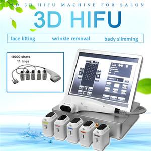 2020 Yeni Stil 3D HIFU Ultrason Makineleri Yüksek Yoğunluklu Terapisi Vücut Şekillendirici Zayıflama HIFU Güzellik Makinesi Sıkma HIFU Skin Odaklı