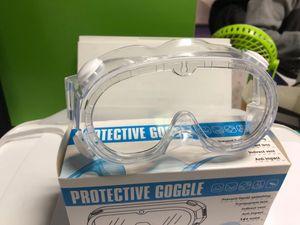 حماية السلامة نظارات واقية على نطاق واسع الرؤية المتاح غير المباشر تنفيس PVC نظارات واقية منع العدوى نظارات حماية العين