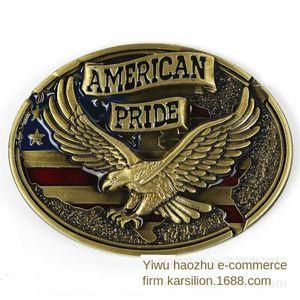 Eagle Western cowboy personalized hip-hop American Eagle buckle belt belt American Western cowboy personalized hip-hop buckle
