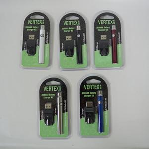 350mAh elektronische Zigarette Batterie 510 Gewinde vorheizen Akku für Vaporizer Pens Cartridge Vape Pen Batterie Blister Box-Pack