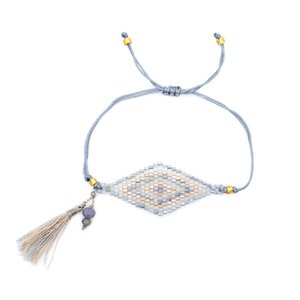 Bracciale Shinus MIYUKI 2019 Bracciale Evil Eye per donna Perles Pulseras Mujer Bracciali Evil Eye Bileklik Summer Beach Jewelry