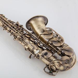 Nouvelle arrivée JUPITER JAS-767 Saxophone Alto Laiton Antique Copper haute qualité Sax Instruments de musique avec étui Embouchure Livraison gratuite