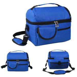 8L Полезные Портативный Толстые двойной изоляцией сумки обед сумка Coolbag работы Пикник Путешествия Adult Дети хранения Закуска хранения