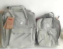 Designer Fjallraven Kanken Men And Women Canvas Backpacks Fog Warm Yellow Backpacks Student Out Casual Grey Backpack Hot Sale Hot Sale 1XNEM