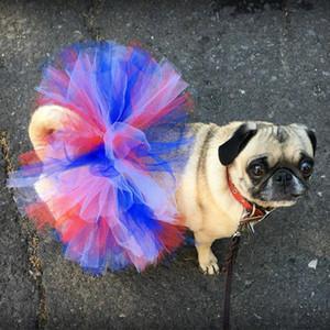 Pet Princess Skirts Soft Cosplay Bulldog Dress For Small Pet Mesh Dog Tutu Skirt Princess Pet Skirt Dog Costume