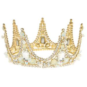 Tiaras nupciales que marcan tendencia accesorios para el cabello de moda Accesorios para el cabello con foto popular en Europa y América corona de la reina Regalo de la joyería