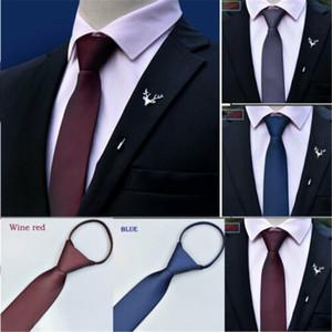 2019 nagelneue Art-Mann-Art- und Zipper-Krawatte Hochzeit formale Geschäfts-Krawatte