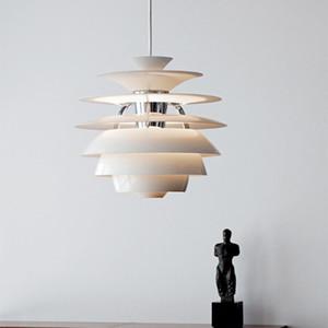 눈덩이 펜던트 조명 북유럽 독창성 펜던트 램프 AC 90-240V E27 침실 커피 레스토랑 LED Hanglamp