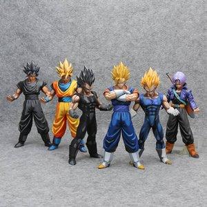 Maestro Estrellas Piece Manga Dragon Ball Z MSP Vegeta Goku Gohan Dragon Ball troncos MX191105 juguete goku PVC Figura Modelo