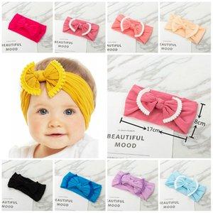 chaud bébé Hairband enfant en bas âge Bow hairband Tassel Bébés filles Bandeau Big Knot Turban Enfants Accessoires cheveux 22style PartywareT2C5179