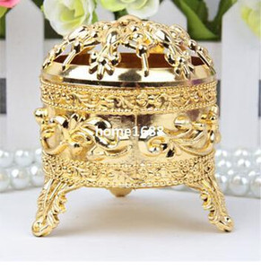 GAGA !Free shipping gold tripod shaped wedding chocolate box , 100 pcs lot JXL1B