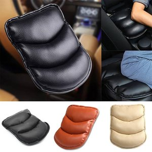 Auto SUV Center Box Konsole Soft Pad Kissenbezug Matte Speicher Auto Schwarz PU Center Armlehne Konsole Soft Kissen Pad Cover Support Box Kissen