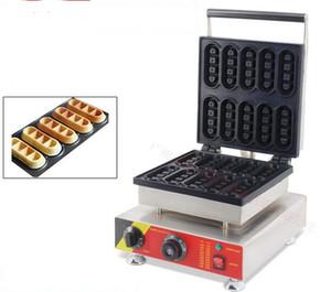 Utilisation commerciale 220V 110V Électrique 10pcs Mini Belge gaufrier fabricant de machine Machine fer moule moule
