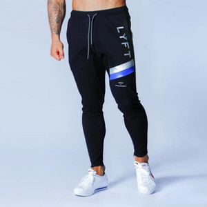 Erkek Koşucular Sweatpants Hip Hop Moda Erkek Sıkı Pantolon Erkek Spor Salonları Spor Man Pantolon Pamuk İnce Pant Vücut Erkekler