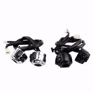 """Freeshipping Car-Styling Novo 2x Motocicleta 25mm 1 """"Interruptor de Controle do Guiador + Cablagem para Harley Motocicleta Guiador Interruptor de Controle"""