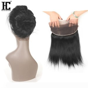 22x4x2 360 Lace Frontal Closures Straight Ear To Ear Lace Frontal With Baby Brazilian Peruvian Malasian Indian Virgin Human Hair