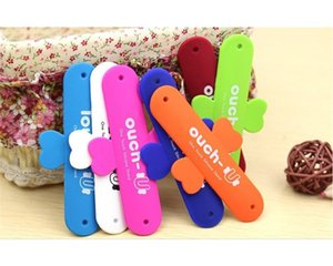 OEM LOGO Universal Portable Touch U One Silicone Stand Holder Cell Phone Mounts For iPhone 5S Galaxy S5 NOTE 3