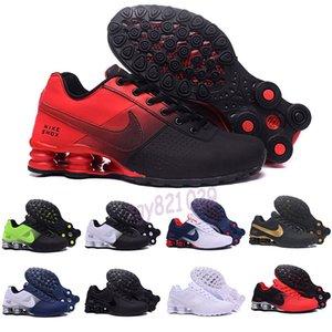 Nike Air Max Shox 809 803 R4 Hommes Air Drop Shipping gros Célèbre LIVRER OZ NZ Hommes Athletic Chaussures de sport Chaussures de sport Formateurs Casual 36-46 G52