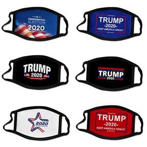 Yüz Maskeleri Trump Print toz geçirmez 2020 Amerikan Seçim Malzemeleri Yetişkin Çocuk Amerikan Bayrağı Maske için Universal Maske