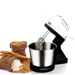 Qihang_top Elektrikli pasta hamuru Mikser Masa standı gıda karıştırma küçük Yumurta Çırpıcı Blender Pişirme Kırbaçlama krem ...