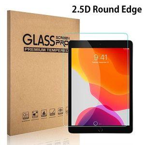 ل iPad 2019 حامي الشاشة 2.5D 10.2 ميني 7.9 الهواء 3 10.5 برو 11 بوصة السادس الزجاج المقسى