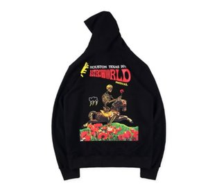 Mens Designer Hoodies Travis Scott Astroworld Festival de crâne Hoodie équitation impression High Street Fashion Brand Hoodie Sweat-shirt en vrac