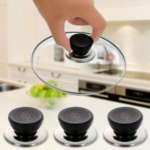 Universal Pan Pot Lid Tampa Kitchen Panelas substituição Tampa Tampa aperto de mão botão de pega da tampa Cozinha Replace Tool