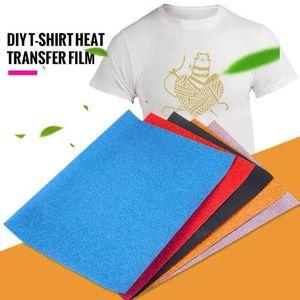 Brillo duradero 1m / 5m Un barrido de la imagen de la camiseta del hierro en el papel de impresión de la camiseta de transferencia de papel de inyección de tinta Impresoras Textiles Calor