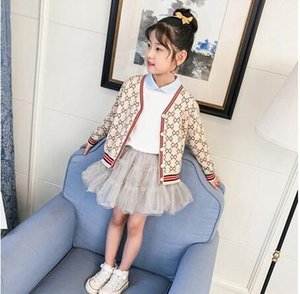 2020 new spring and autumn beige white cardigan wool coat baby girl boy knitted sweater knitted coat