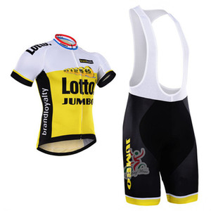 2019 New pro team yellow summer mens Cycling jerseys breathable bike clothing MTB Ropa Ciclismo Bicycle maillot