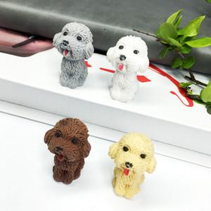 Cartoon Cute Dog Rubber Eraser Art School Supplies Office Stationery Novelty Pencil Correction Supplies Cartoon Doggy Eraser J190705