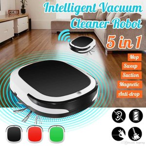Rechargeable Intelligent Robot Vacuum Cleaner Robot Sweeping Machine 1800pa Low Noise for Home Office