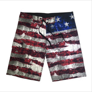 Men Board Shorts Boardshorts Casual Summer Swim Trunks Shorts Men's Half Beach Pants Fitness Exercise Plus Size Bermuda Surf Boxers B5886