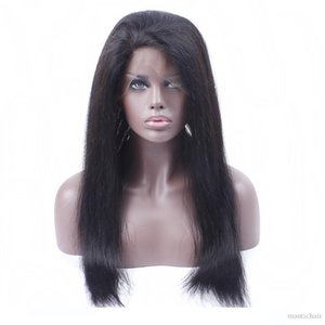Pre pizzico 360 Frontal del merletto peruviano brasiliana diritta calda dei capelli di bellezza naturale della linea sottile frontale 360 Lace Virgin dei capelli