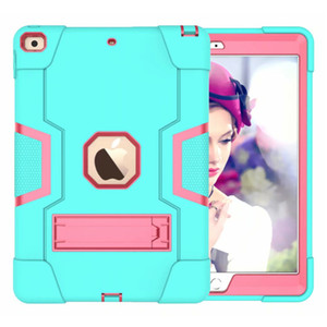Defender Shockproof Robot Case military Extreme Heavy Duty silicone cover for ipad pro 9.7 3 4 5 air 2 2017 2018 mini4 Mini5 Armor Cases