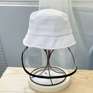 Children's Anti-fog Hat Spring Thin Anti-saliva Fisherman Hats Cotton Baby Hat Child Protective Basin Hat EEA1316-3