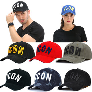 Icon Cap Hat for Men Women Embroidery Pattern Baseball Cap Hip Hop Chapeau Homme Visor Direct Wholesale Czapka Z Daszkiem Hot