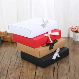 리본 멀티 컬러가 H1 8ss 생일 파티 공급 핫 판매 1 케이스 포장과 함께 종이 상자 포장 선물 포장 종이 상자
