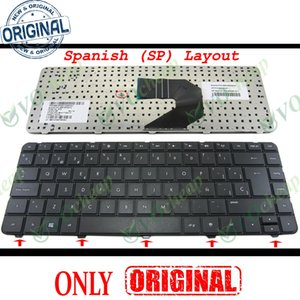 Win8 Genuine New Laptop keyboard for HP Pavilion G4 G4-1000 G6 G6-1000 Presario CQ43 CQ57 430 630S Black Spanish SP 698694-071
