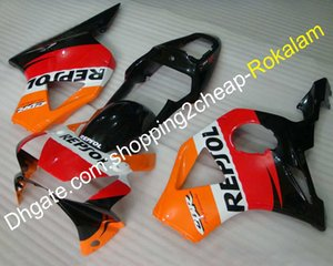 Kit moto pour Honda CBR900RR 954 2002 2003 CBR900 CBR954RR CBR 02 03 Rouge Orange Noir Blanc Carénage Sportbike (Moulage par injection)