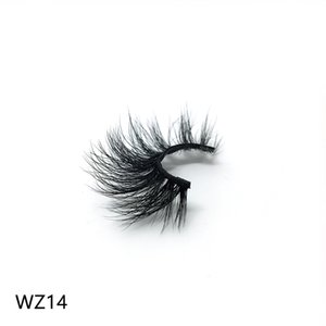 New WZ14 private label Magnetic eyeliner and magnetic real mink eyelashes-waterproof liquid liner